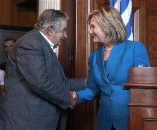Hillary Rodham Clinton, Jose Mujica,