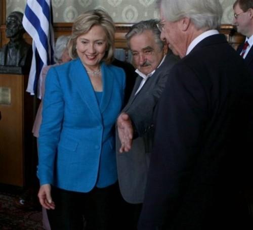 Hillary Rodham Clinton, Jose Mujica