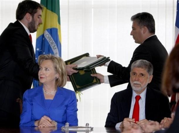 Hillary Rodham Clinton, Celso Amorim