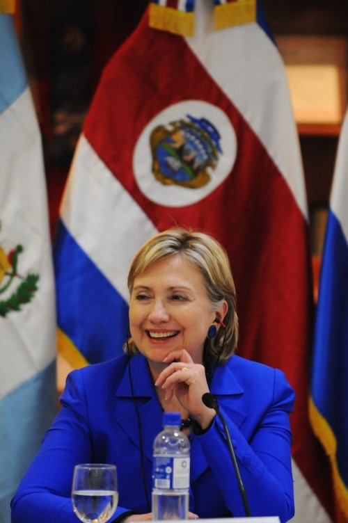 EL SALVADOR-USA-CLINTON-VISIT