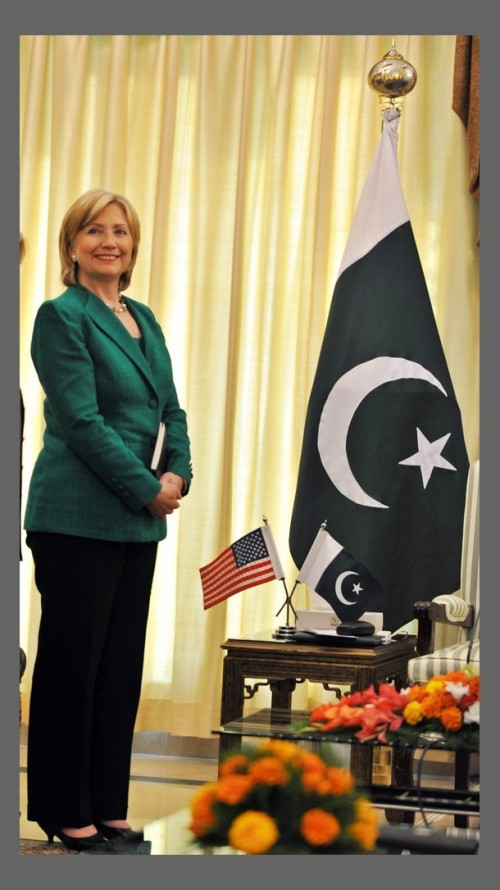 US Secretary of State Hillary Clinton l